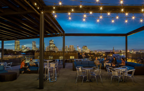 enterprise coworking rooftop event space