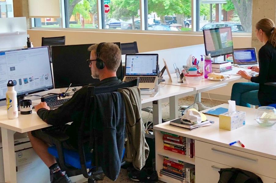 dedicated desk denver