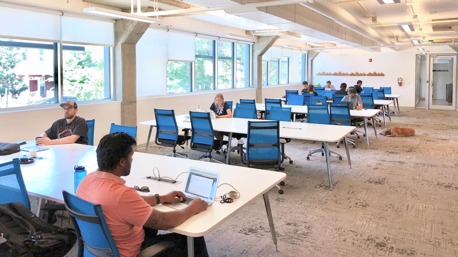 rino coworking desks