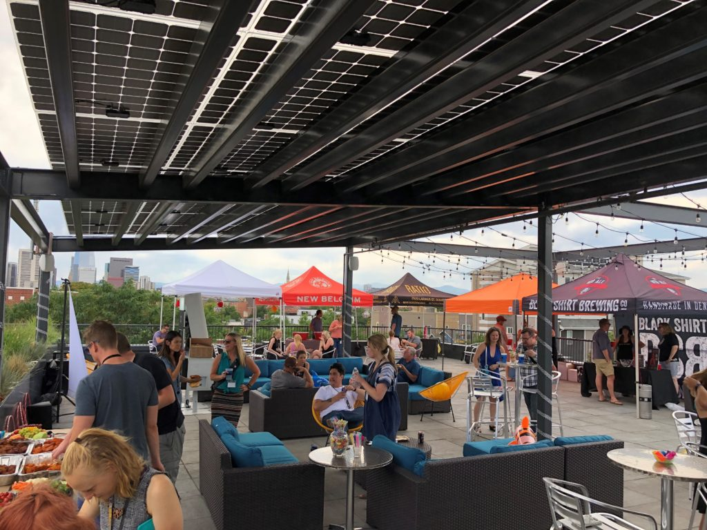 denver coworking party